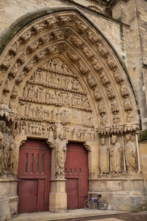 The Gothic church of Reims now symbolizes the reconciliation of France.