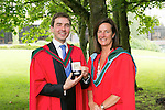 University of Limerick Graduations Thursday afternoon.<br /> Picture Credit Brian Gavin Press 22