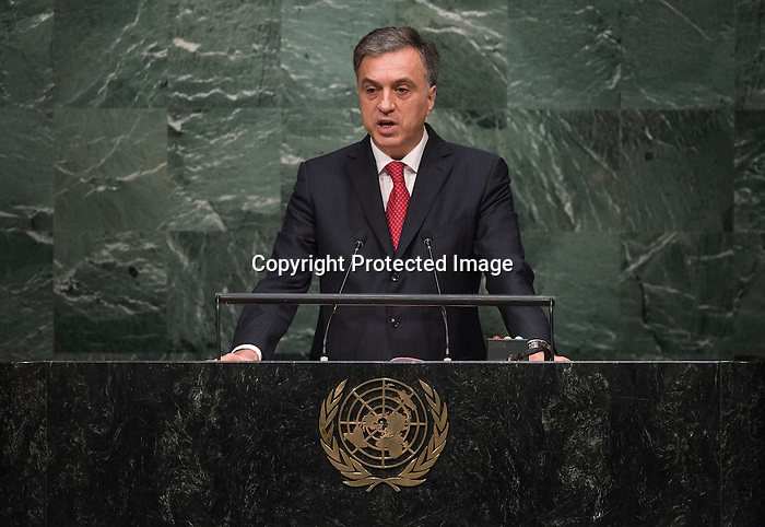 . Address by His Excellency Filip Vujanović, President of Montenegro<br /> General Assembly 70th session 22nd plenary meeting<br /> Continuation of the General Debate