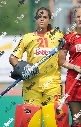 2013-07-14 / Hockey / seizoen 2013 / Dames Belgi&euml; / Aisling D'Hooghe<br /><br />Foto: Mpics.be