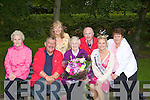 GRANNIES: Winning grannies in the rose of tralee find a grannie winner was Margaret Murphy(Ballyrickard Tralee) who was presented with her prize by the 2008m Rose of Tralee Aoife Kelly. L-r: Maureen De Lacey (Tralee), Sean Lyons, Bernie Crean (Camp) Richard O'Halloran(Rose of Tralee), Aoife Kelly 2008 Rose of Tralee and Mary O'Sullivan (Ballyduff).... ....