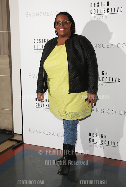 Alison Hammond arriving for LFW s/s 2015 - Design Collective for Evans, London. 16/09/2014 Picture by: James Smith / Featureflash