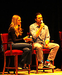 Melissa Ordway & Joshua Morrow - The Young and The Restless - Genoa City Live celebrating over 40 years with on February 27. 2016 at The Lyric Opera House, Baltimore, Maryland on stage with questions and answers followed with autographs and photos in the theater.  (Photo by Sue Coflin/Max Photos)