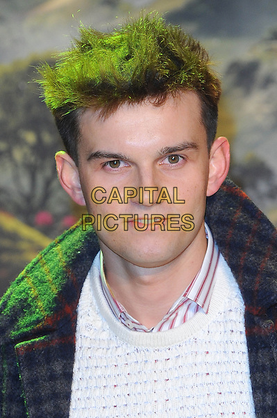 William Tempest.'Oz the Great and Powerful' European Premiere held at the Empire cinema, Leicester Square, London, England,.UK, 28th February 2013..portrait headshot  white red grey checked coat .CAP/BEL.©Tom Belcher/Capital Pictures