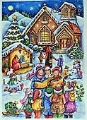 Interlitho-Theresa, HOLY FAMILIES, HEILIGE FAMILIE, SAGRADA FAMÍLIA, paintings+++++,church, kids, stable,KL6126,#xr#