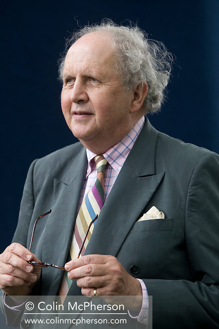 Legendary Scottish bestselling crime author Alexander McCall Smith, pictured at the Edinburgh International Book Festival where he talked about his latest work. The three-week event is the world's biggest literary festival and is held during the annual Edinburgh Festival. The 2009 event featured talks and presentations by more than 500 authors from around the world.