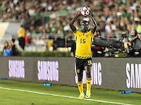 Pasadena, CA - Thursday June 09, 2016: JeVaughn Watson during a Copa America Centenario Group C match between Mexico (MEX) and Jamaica (JAM) at Rose Bowl Stadium.