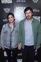 HOLLYWOOD, CA - JUNE 6: Floriana Lima and Casey Affleck at the L.A. Premiere of American Woman at the Arclight in Hollywood, California on June 5, 2019. <br /> CAP/MPI/DE<br /> ©DE//MPI/Capital Pictures