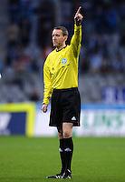 Fussball 2. Bundesliga:  Saison   2012/2013,    4. Spieltag  TSV 1860 Muenchen - MSV Duisburg    31.08.2012 Schiedsrichter Norbert Grudzinski