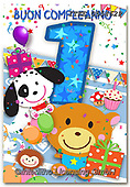 Isabella, CHILDREN BOOKS, BIRTHDAY, GEBURTSTAG, CUMPLEAÑOS, paintings+++++,ITKE055462,#BI#, EVERYDAY ,age cards