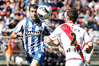 Rayo Vallecano's Tito (r) and Real Sociedad's Imanol Agirretxe during La Liga match.April 14,2013. (ALTERPHOTOS/Acero)