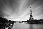 Eiffel Tower from Pont De Bir-Hakeim, Paris, France