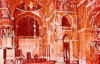 Venezia:  Basilica San Marco--The Iconostasis.