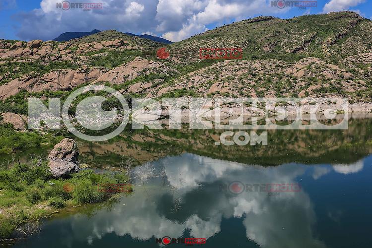 Presa LA ANGOSTURA en Sonora. <br /> Madrean Diversity Expeditions con la Comisiòn Nacional de Areas Naturales Protegidas, CONANP, en la Sierra del Tigre.<br /> <br /> Municipio de Nacozari Sonora Mexico.<br /> <br /> CreditoFoto:LuisGutierrez