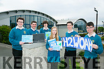 Mercy Mounthawk students make Finals of National Eco-Unesco Awards with their H2Woah' and 'The Climate Controllers' environment projects Pictured l-r  Colin McDaid, Sean McElligott and Gerard Tansley. Front l-r  Aoife King, Hugo Wells and Zach Brosnan