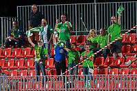 VfL Wolfsburg's supporters celebrate goal during UEFA Womens Champions League 2017/2018, 1/16 Final, 1st match. October 4,2017. (ALTERPHOTOS/Acero) /NortePhoto.com /NortePhoto.com