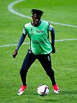 Bertrand Traore of Ajax trains ahead of the UEFA Europa League Final at the Friends Arena, Stockholm. Picture date: May 23rd, 2017. Pic credit should read: Matt McNulty/Sportimage