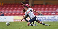Preston North End's Ryan Ledson battles for the ball <br /> <br /> Photographer Dave Howarth/CameraSport<br /> <br /> The Carabao Cup First Round - Bradford City v Preston North End - Tuesday 13th August 2019 - Valley Parade - Bradford<br />  <br /> World Copyright © 2019 CameraSport. All rights reserved. 43 Linden Ave. Countesthorpe. Leicester. England. LE8 5PG - Tel: +44 (0) 116 277 4147 - admin@camerasport.com - www.camerasport.com