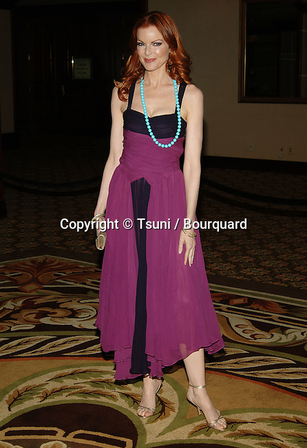Marcia Cross arriving at the Project A.L.S. Benefit Gala at the Century Plaza Hotel in Los Angeles. May, 6, 2005.