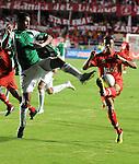 Con gol de Luis Calderón, Cali le ganó por 1-0 el clásico al América en el Pascual Guerrero y entró a zona de clasificación
