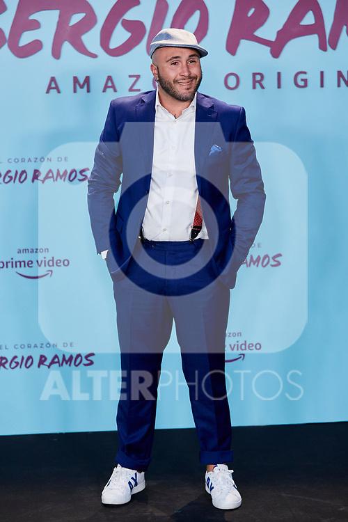 "Kiko Rivera attends to ""El Corazon De Sergio Ramos"" premiere at Reina Sofia Museum in Madrid, Spain. September 10, 2019. (ALTERPHOTOS/A. Perez Meca)"