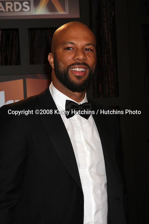 Common  arriving at the  Critic's Choice Awards at the Santa Monica Civic Center, in Santa Monica , CA on .January 8, 2009.©2008 Kathy Hutchins / Hutchins Photo..                .