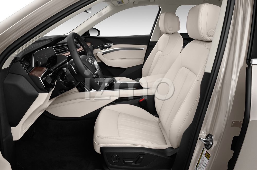 Front seat view of a 2019 Audi e-tron Prestige 5 Door SUV front seat car photos
