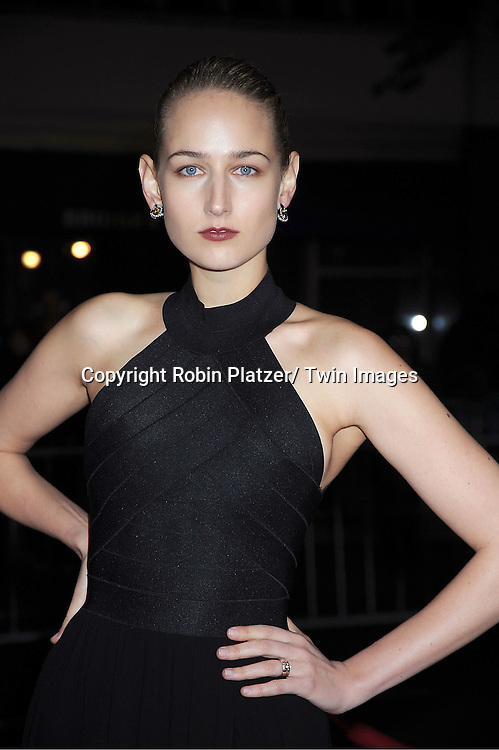 "Leelee Sobieski arrives to The World Premiere of "" The Five-Year Engagement"" at the opening night of The Tribeca Film Festival at the Ziegfeld Theatre in New York City on ..April 18, 2012."