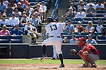 Alex Rodriguez (Yankees),<br /> MARCH 4, 2015 - MLB : Alex Rodriguez (13) of the New York Yankees bats in the first inning during a spring training baseball game against the Philadelphia Phillies at George M. Steinbrenner Field in Tampa, Florida, United States.<br /> (Photo by Thomas Anderson/AFLO) (JAPANESE NEWSPAPER OUT)