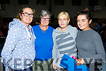 Karen O'Brien, Ann Murphy, Joanne Lynch and Leanne O'Brien, all from Tralee attending the St Marys Basketball Monster bingo night in Castleisland on Tuesday..