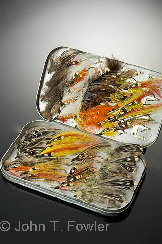 Trout and salmon fishing flies