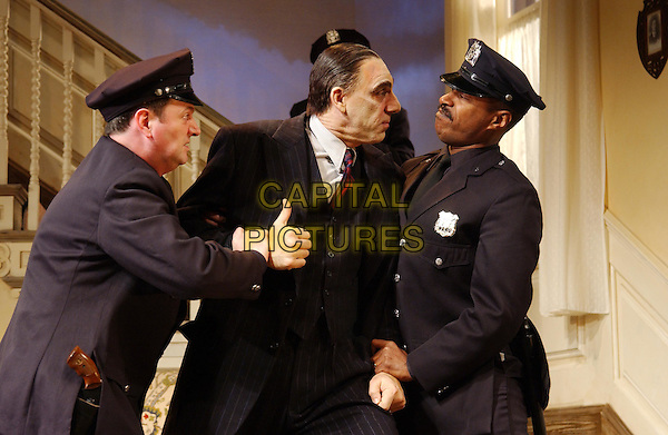 "MICHAEL RICHARDS.Seinfeld's ""Kramer"" makes his West End stage debut  in the comedy thriller ""Arsenic And Old Lace"" at the Strand Theatre.www.capitalpictures.com.©Capital Pictures"