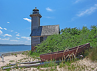 Grand Island East Channel Lighthouse-2 lighthouses in the Upper Peninsula of Michigan