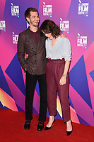 Andrew Garfield &amp; Claire Foy at the photocall for &quot;Breathe&quot;, part of the BFI London Film Festival, at the Mayfair Hotel, London, UK. <br /> 04 October  2017<br /> Picture: Steve Vas/Featureflash/SilverHub 0208 004 5359 sales@silverhubmedia.com