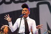 Jun 25, 2011: JANELLE MONAE - Glastonbury Festival Day Two