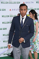HOLLYWOOD, CA - MAY 6:  Aasif Mandvi at the Premiere Of Disney's 'Million Dollar Arm'  on May 6, 2014 at El Capitan Theatre in Hollywood, California. Credit: SP1/Starlitepics /nortephoto.com