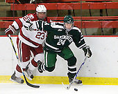 Rence Coassin (Harvard - 17), Evan Stephens (Dartmouth - 24) - The Harvard University Crimson defeated the Dartmouth College Big Green 4-1 (EN) on Monday, January 18, 2010, at Bright Hockey Center in Cambridge, Massachusetts.