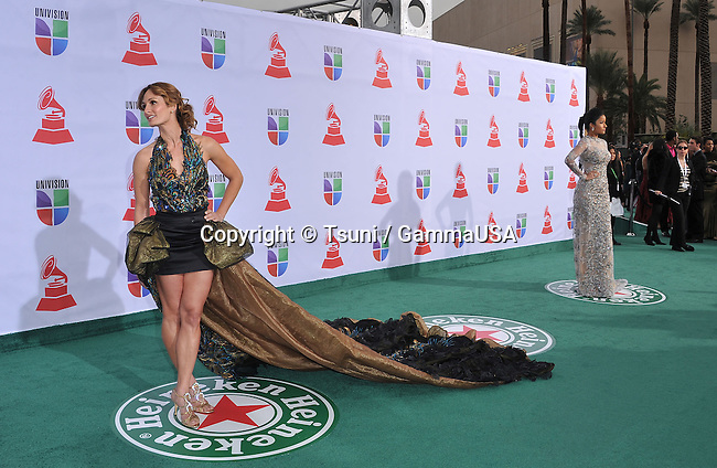 D Manti   at the 12Th Latin Grammy Awards at TheMandalay Bay Hotel in Las Vegas.