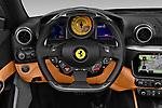 Car pictures of steering wheel view of a 2018 Ferrari Portofino base 2 Door Convertible