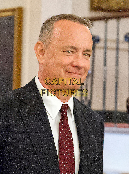 Actor and filmmaker Tom Hanks arrives to accept Presidential Medal of Freedom, the Nation&iacute;s highest civilian honor, from United States President Barack Obama in the East Room of the White House in Washington, DC on November 22, 2016.<br /> CAP/MPI/RS<br /> &copy;RS/MPI/Capital Pictures