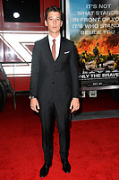 Miles Teller at the premiere for &quot;Only The Brave&quot; at the Regency Village Theatre, Westwood. Los Angeles, USA 08 October  2017<br /> Picture: Paul Smith/Featureflash/SilverHub 0208 004 5359 sales@silverhubmedia.com