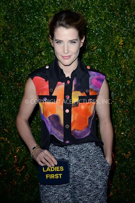 WWW.ACEPIXS.COM<br /> April 20, 2015 New York City<br /> <br /> Cobie Smulders attending the 2015 Tribeca Film Festival CHANEL Artists Dinner at Balthazer on April 20, 2015 in New York City.<br /> <br /> Please byline: Kristin Callahan/AcePictures<br /> <br /> ACEPIXS.COM<br /> <br /> Tel: (646) 769 0430<br /> e-mail: info@acepixs.com<br /> web: http://www.acepixs.com