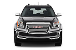 Car photography straight front view of a 2016 GMC Terrain SLT 5 Door SUV Front View