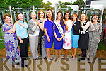 Former Roses at the unveiling of the Rose monument in Tralee Town Park on Thursday were l-: Therese Gillespie (1965) Ciara O'Sullivan (1962) Josie Ruane (1961) Muirne Hurley (1994) Sinead Boyle (1989)  Nicola McEvoy (2012 Rose of Tralee) Denise O'Sullivan (1991) Kirsty O'Shea (1993) Veronica McCambridge Blennerhassett (1973) and Ann Foley (1967).