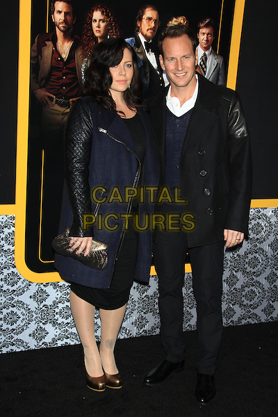 NEW YORK, NY - DECEMBER 8: Dagmara Dominczyk and Patrick Wilson at the New York Premiere of &quot;American Hustle&quot; at the Ziegfeld Theatre on December 8, 2013 in New York City, NY., USA.<br /> CAP/LNC/TOM<br /> &copy;LNC/Capital Pictures