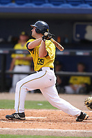 March 21, 2010:  Vinnie Sarafa (39) of the Michigan Wolverines at bat during a game at Tradition Field in St. Lucie, FL.  Photo By Mike Janes/Four Seam Images