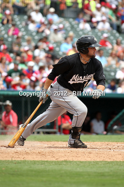 Jaff Decker - 2012 San Antonio Missions (Bill Mitchell)