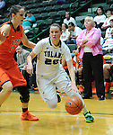 Images from the first half as Tulane Women's Basketball falls to UTEP, 86-72.