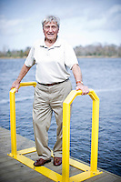 Pops Peterson by the Cape Fear River in Wilmingotn, NC