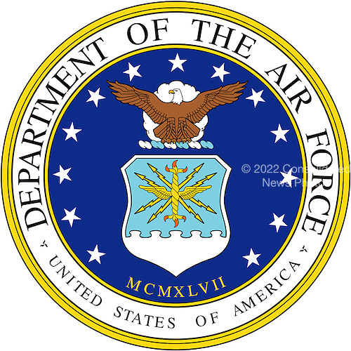 Official Seal of the United States Air Force.<br /> Credit: USAF via CNP